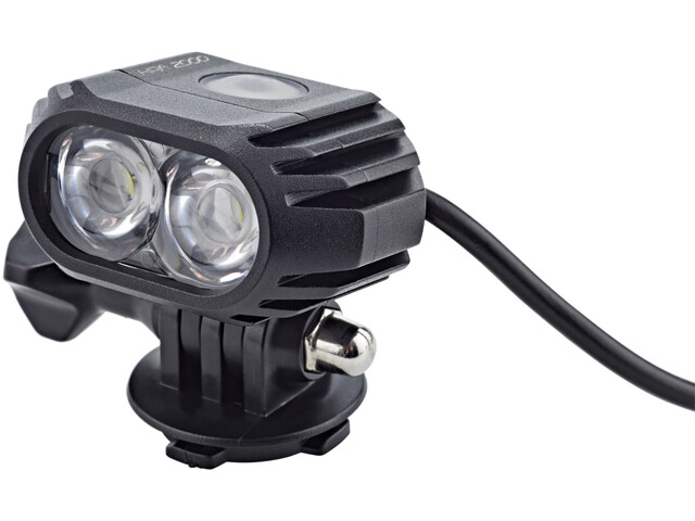 Cube HPA 2000 LED-Licht Helmlampe black